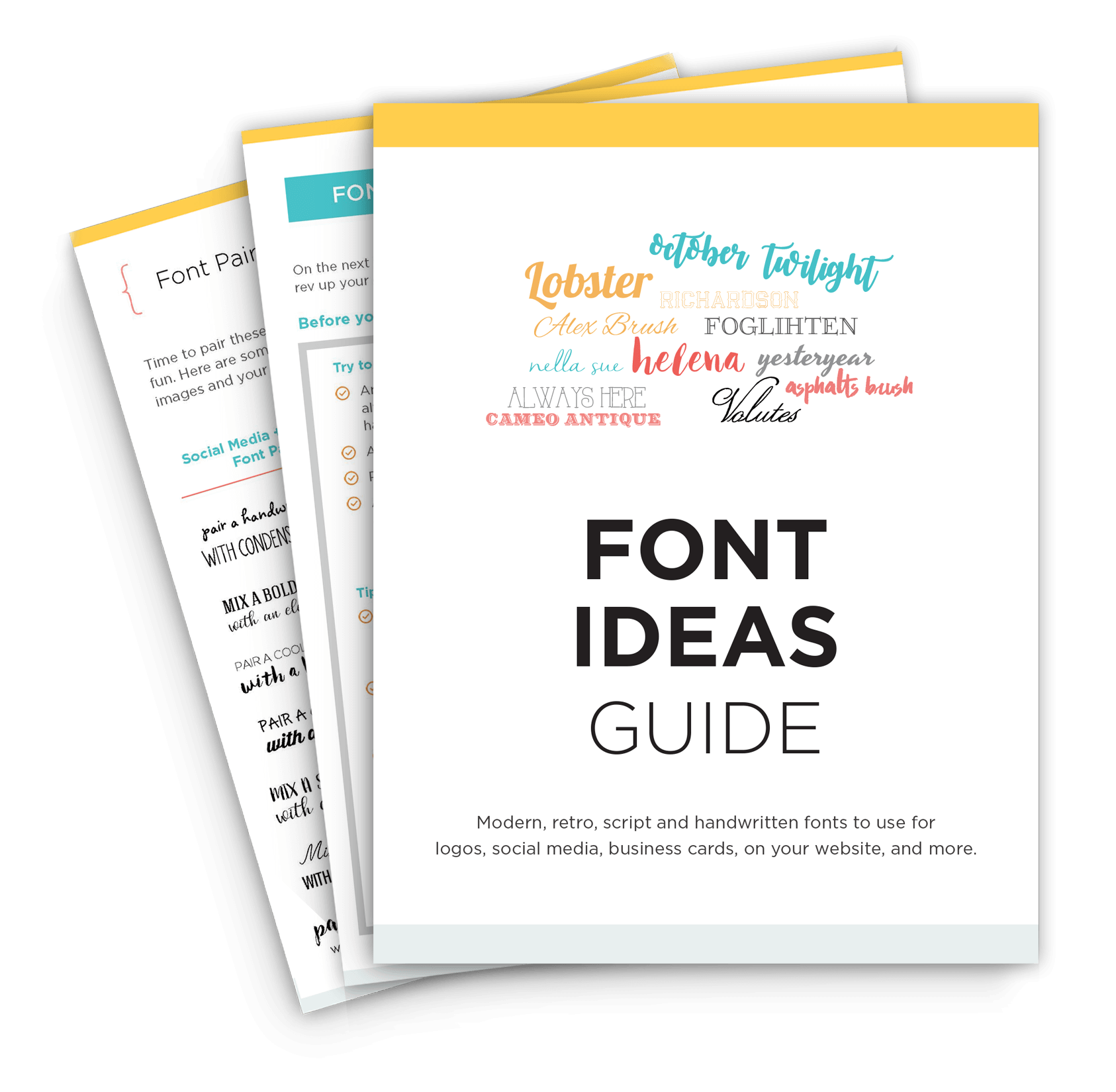 font ideas | Build My Brand Toolkit