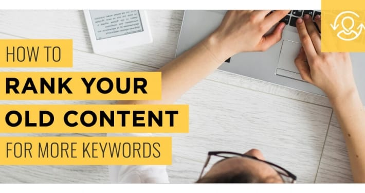rank content for keywords