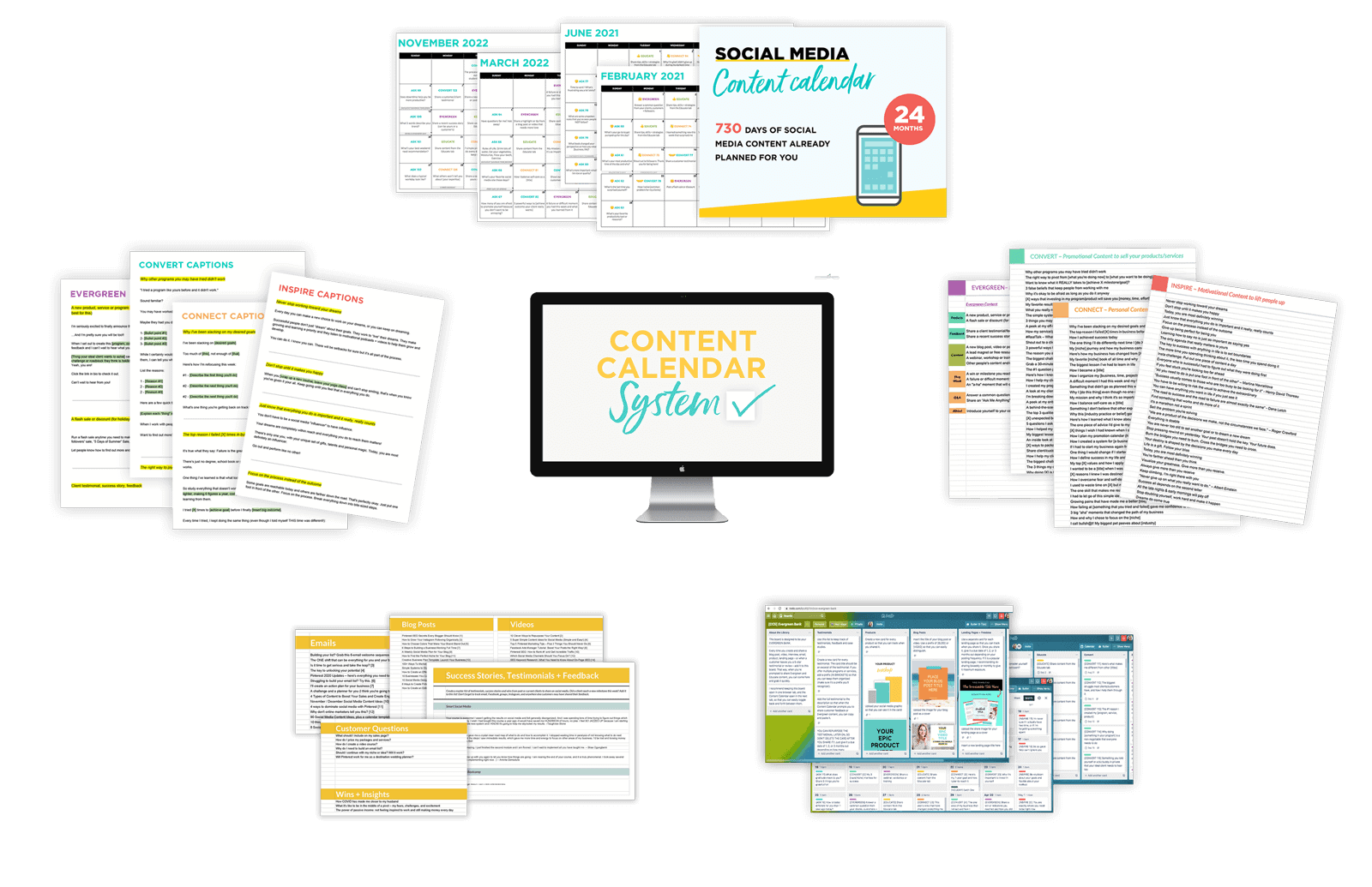 Content Calendar System by ConversionMinded