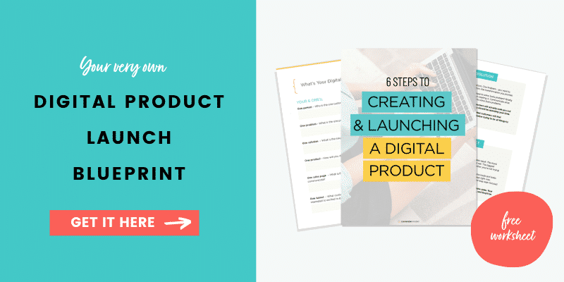 Get the Digital Product Launch Blueprint from ConversionMinded